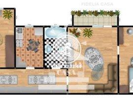 Vanzare apartament 3 camere, Alexandru cel Bun, Iasi