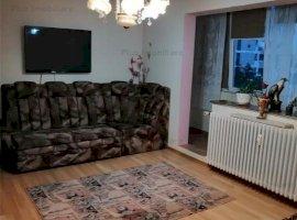 Apartament 3 camere mobilat si utilat aproape de metroul Titan