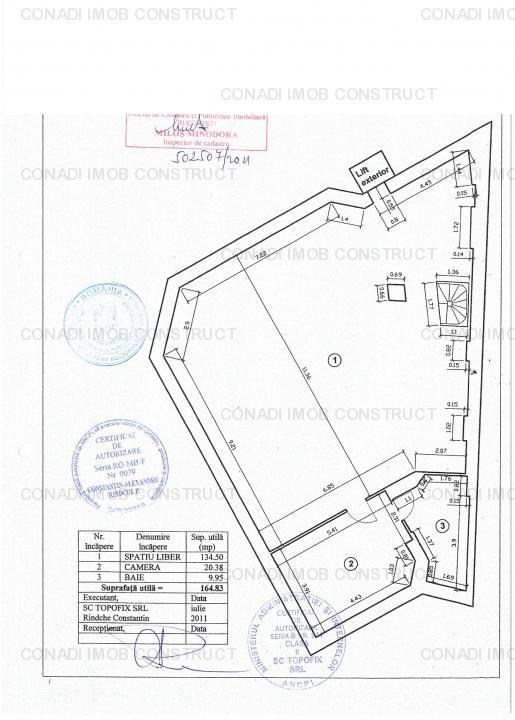 Zona Romana - Vila exclusivista pentru inchiriere.