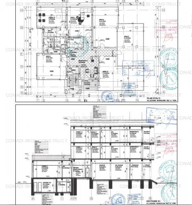 Cladire birouri cu showroom, hala productie depozitare, pe Oxigenului