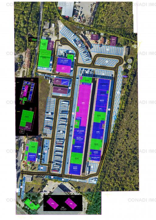 Hala industriala pentru depozitare si logistica Sos Chitilei Corp A