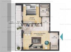 Apartamente 2 camere, cu gradina, zona Baciu, COMISION 0