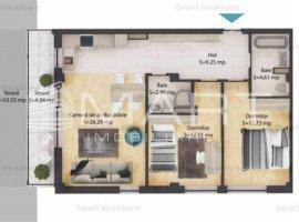 Apartamente 3 camere, cu gradina, zona Baciu, COMISION 0