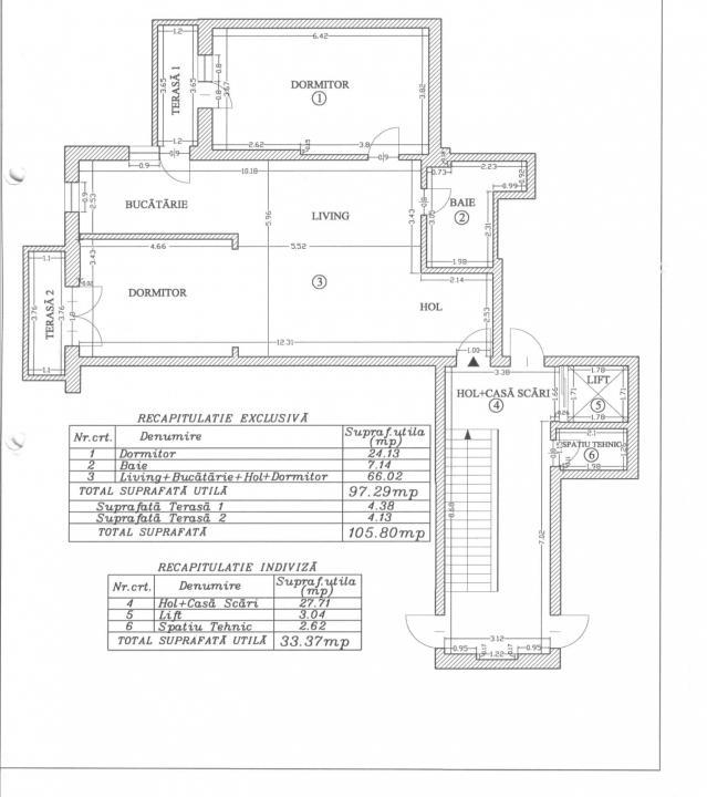 APARTAMENT DE VANZARE 3 CAMERE CARTIERUL FRANCEZ - HERASTRAU