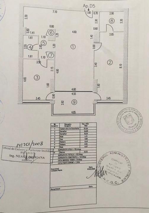 APARTAMENT DE VANZARE 3 CAMERE NORDULUI-HERASTRAU ( VEDERE PARC  + DOUA LOCURI PARCARE