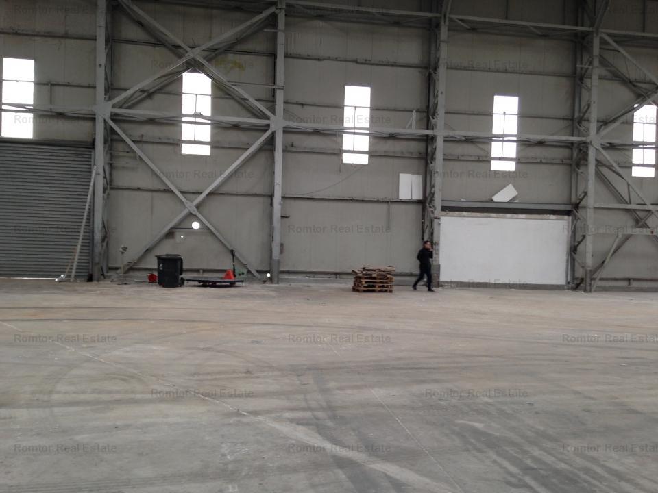 Spatiu industrial de inchiriat Zona Est - Platforma Faur