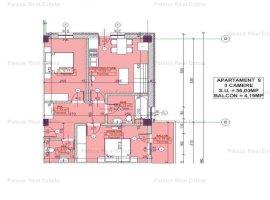 Vanzare apartament 3 camere, Pacurari, Iasi