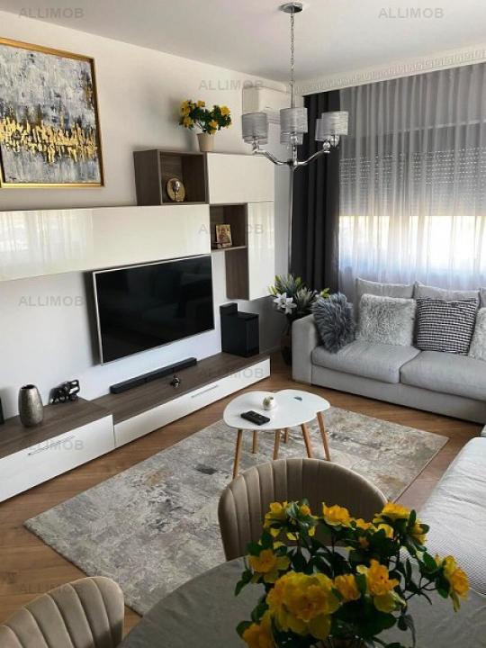 Apartament mobilat si utilat in complex 4 CITY North Pipera