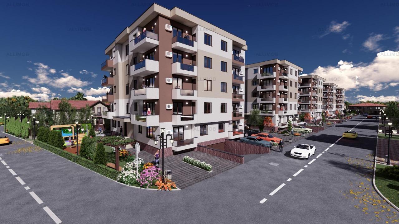 Apartament 3 camere lux, Ploiesti, cartier rezidential Albert, Comision 0!