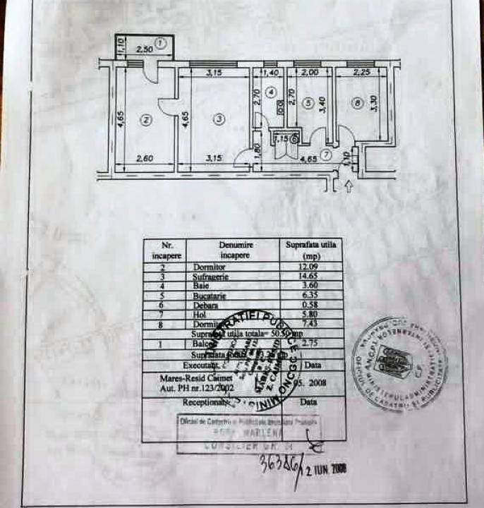 Apartament 3 camere, zona Sud, Ploiesti