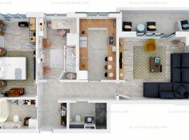 Apartament cu 3  Camere Bloc Nou Tatarasi, COMISION 0