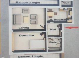 Apartament 2 camere CUG