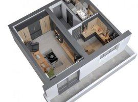 Apartament cu 1 camera  in Bucium, 0 COMISION
