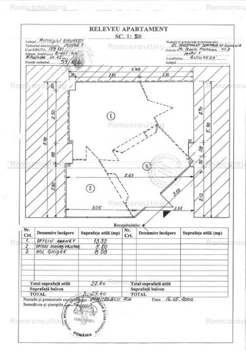 Proprietar vand spatiu comercial 27 mp, Bd. Ion Mihalache 45