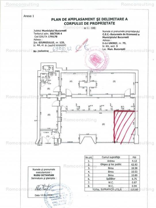 Proprietar vand spatiu comercial 18 mp, Sos. Giurgiului 125