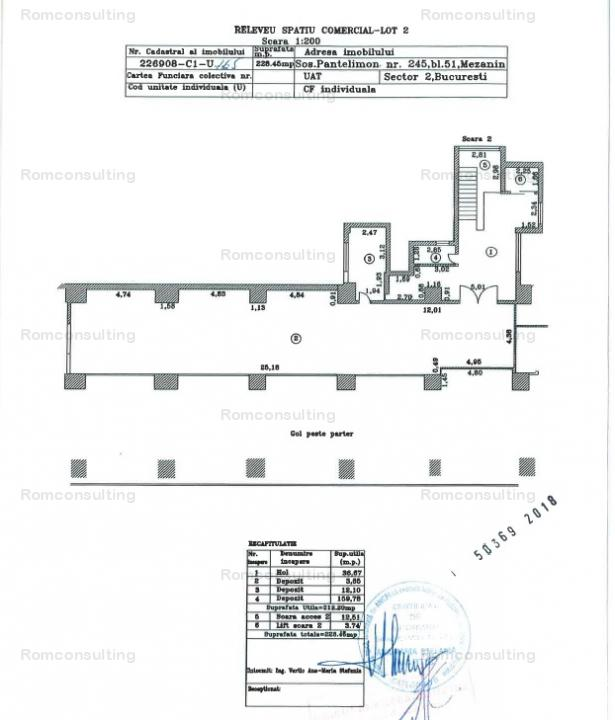 Proprietar vand spatiu comercial (de depozitare), Sos. Pantelimon 245