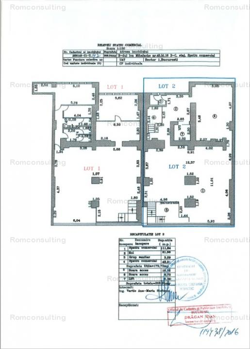Proprietar vand spatiu comercial 571 mp, Bd. Ion Mihalache 45