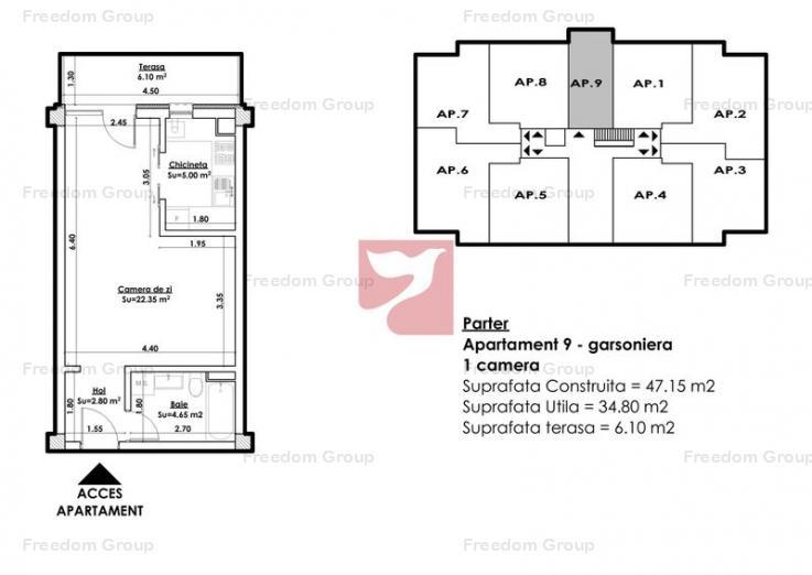TB9 Premium Residence - garsoniera spatioasa, 0% Comision