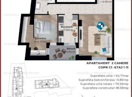 Apartament 2 camere langa Parcul Carol