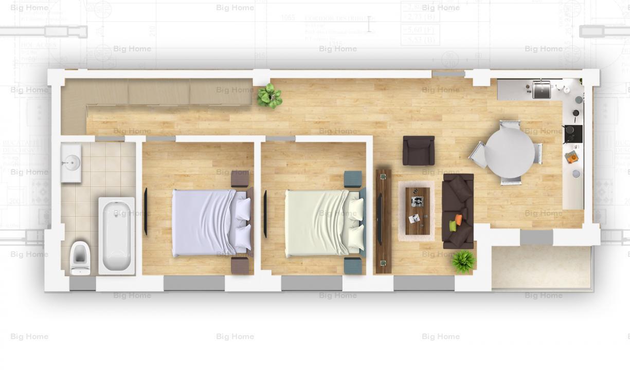 Apartamente 3 camere FINALIZAT/TE POTI MUTA IMEDIAT