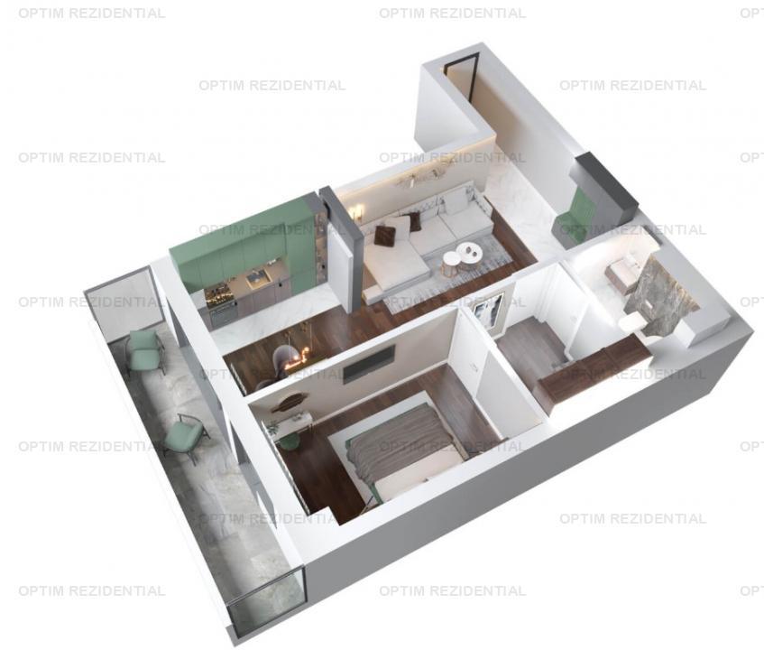 Ap 2 camere, ideal investitie, pret promo, zona Copou