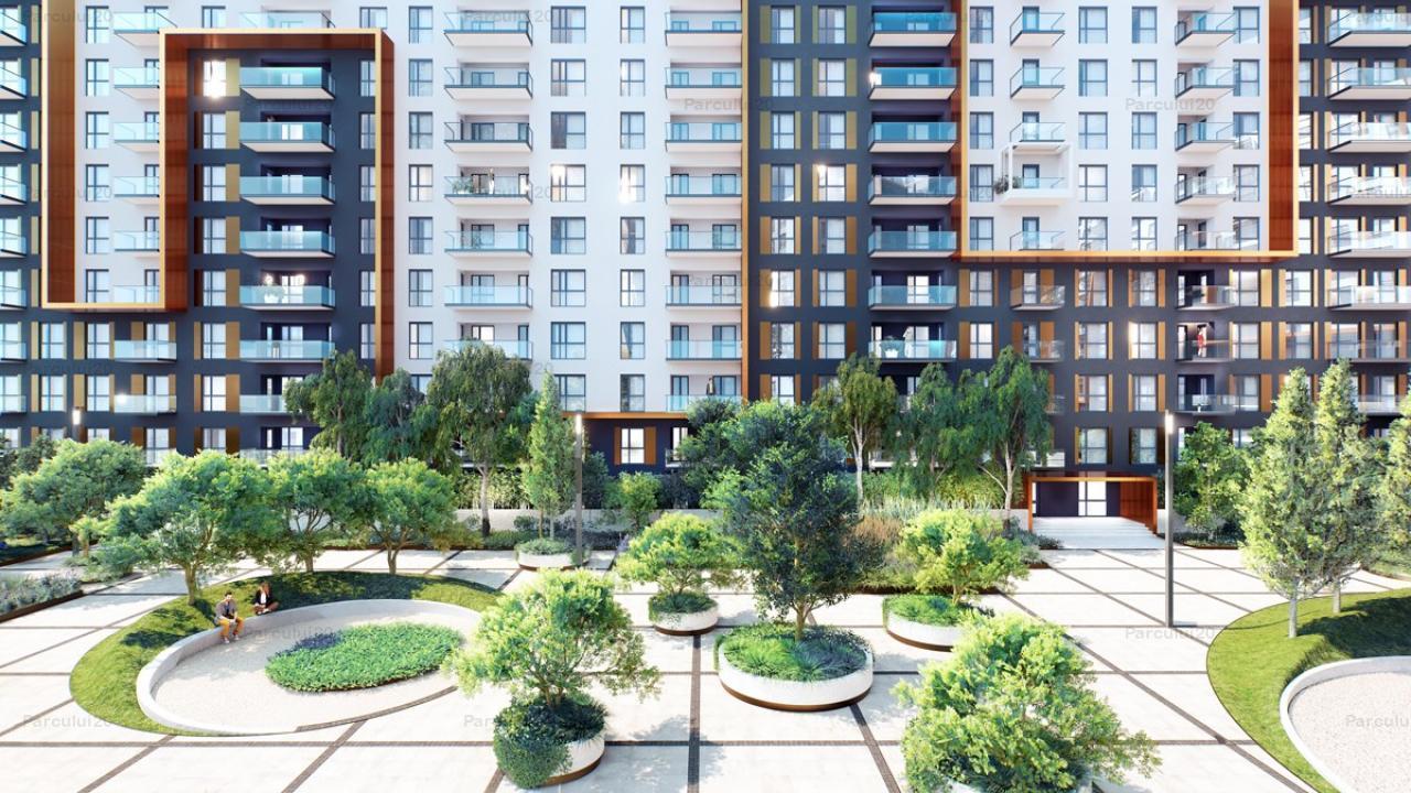 Apartament 3 camere cu Smart Home in ansamblu rezidential cu sistem incarcare masini electrice