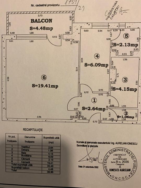 Garsoniera Decebal/Renovata/Decomandata