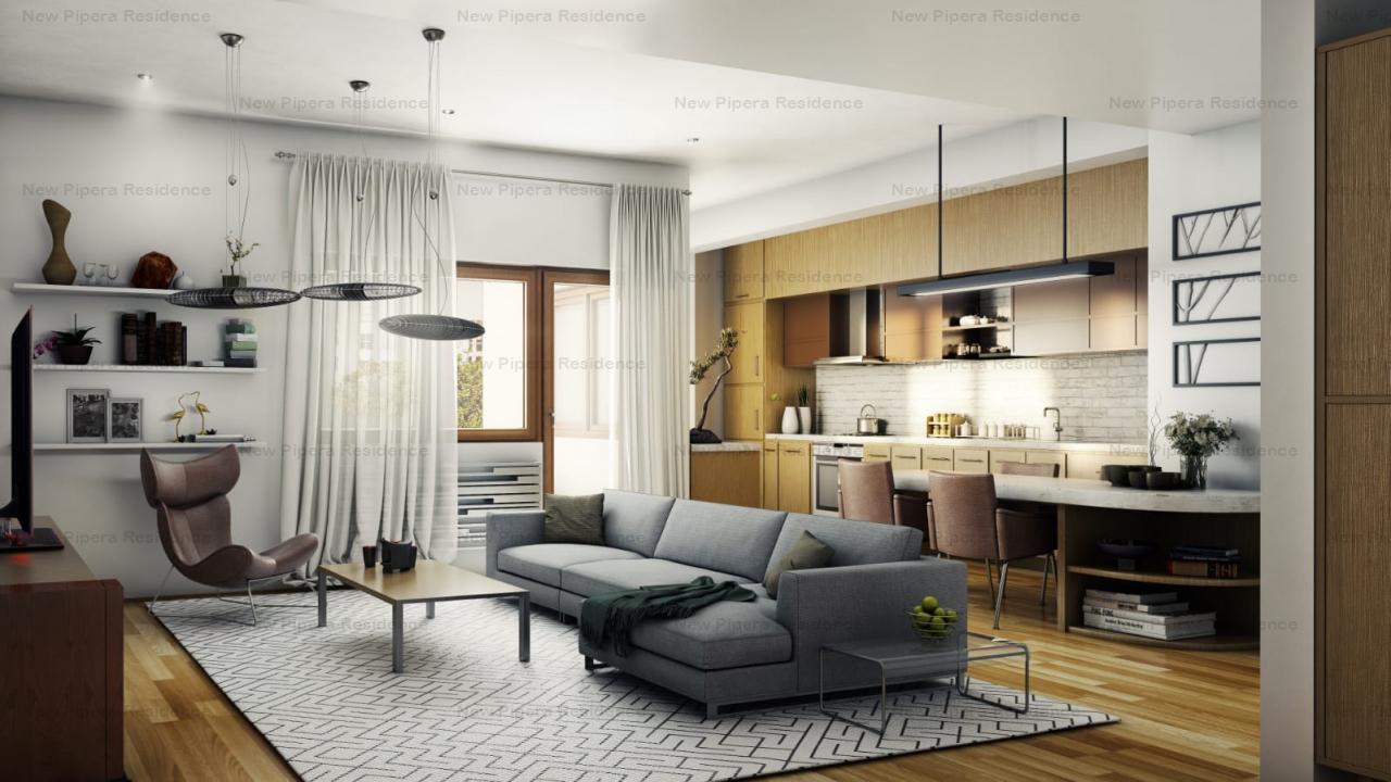 apartament nou de vanzare, 3 camere, imobil de  lux situat in zona Marriott