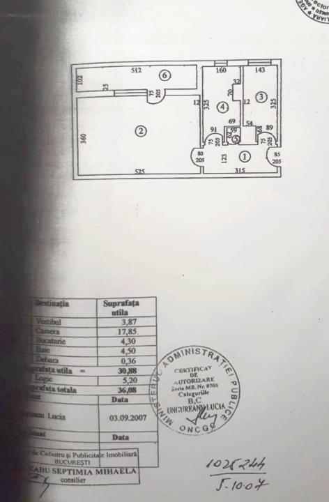 Garsoniera Militari- Lujerului-Cora- bloc mixt