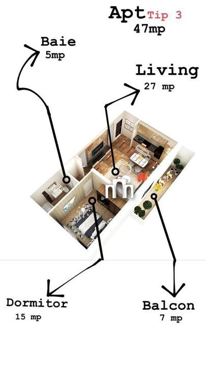 Apartament cu 1 camera in zona Braytim !