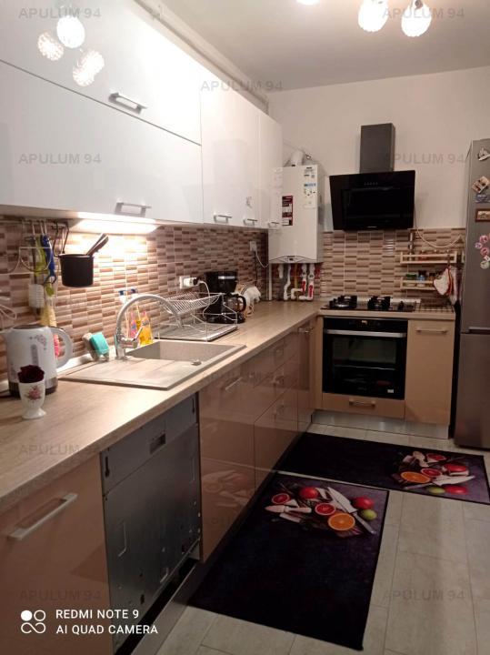 Prelungirea Ghencea, 3 camere, 76mp, etaj 3, mobilat si utilat, parcare subteran
