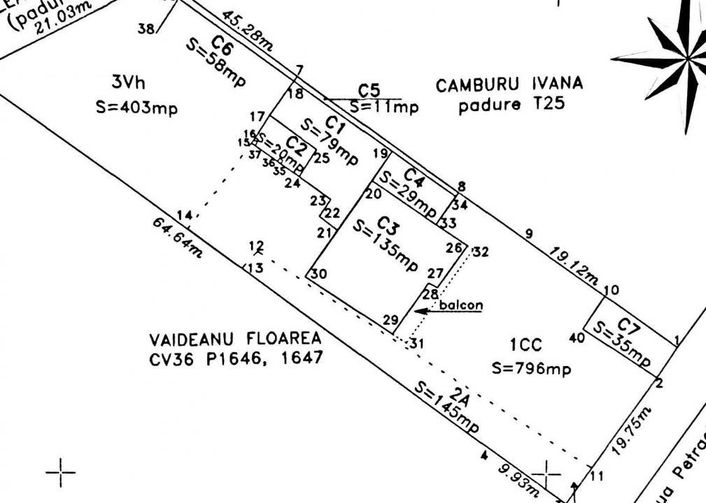 Afumati vila 8 camere , teren 1300 mp , piscina