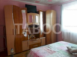 Apartament finisat si mobilat 3 camere zona Profi Cisnadie