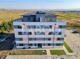 Penthouse de vanzare 3 camere 2 bai 88 mpu si terasa 120 mp in Sibiu