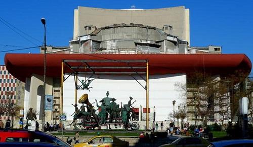 Teatrul National Bucuresti, finalizat in proportie de 70%